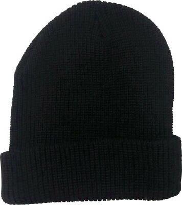 [防寒着]トラスコ中山(株) TRUSCO ニット帽 TATB-BK 1個【489-4162】
