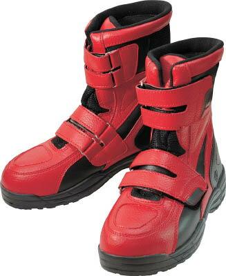 [作業靴](株)丸五 丸五 ハイカットセーフティー#150 レッド 25.5cm HCS150-R-255 1足【760-0259】