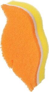 [スポンジ]スリーエム ジャパン(株) 3M スコッチ・ブライト 小鳥のかたちのキッチンスポンジ オレンジ TR-62KE 1個【751-4221】