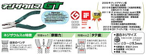 (株)エンジニアエンジニアネジザウルスGTPZ-581丁【344-5640】【あす楽対応商品/関西・四国】
