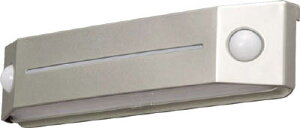 [防犯用センサーライト(LED・乾電池式タイプ)]アイリスオーヤマ(株) IRIS 乾電池式LEDセンサーライト フットタイプ 電球色 BOS-FL2-WS 1個【818-3578】