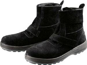 [安全靴(半長靴・JIS規格品)](株)シモン シモン 安全靴 WS28黒床 24.5cm WS28BKT-24.5 1足【784-7645】