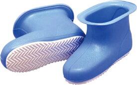 [洗濯・浴室用ブーツ](株)ミツギロン ミツギロン カレンナブーツ(26cm)ブルー BT-11-B 1足【795-4450】