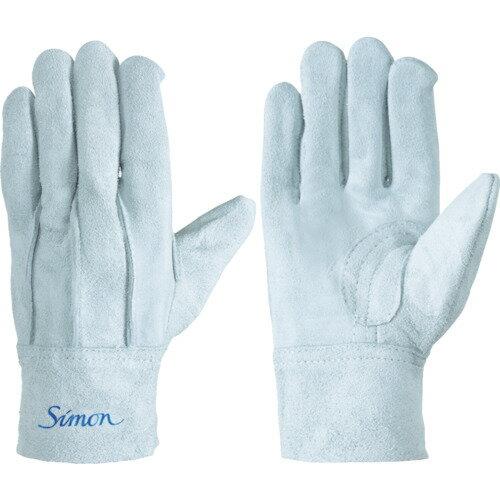 [牛床革手袋](株)シモン シモン 牛床革手袋107AP M 4110056 1双【789-4791】