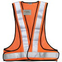 [安全ベスト]スリーエム ジャパン(株) 3M 高視認性反射ベスト SVP−02R レッドオレンジ SVP-02R 1着【398-1657】