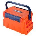 [樹脂製工具箱]明邦化学工業(株) メイホー バケットマウスBM−5000 オレンジ BM-5000 OR 1個【794-4497】