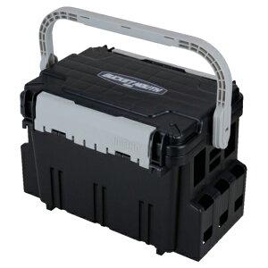 [樹脂製工具箱]明邦化学工業(株) メイホー バケットマウスBM−5000 ブラック BM-5000 BK 1個【794-4489】