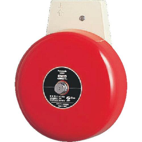 [コールシステム]パナソニック(株)エコソリューションズ社 Panasonic 6型警報赤ベル AC100V EA9061 1個【836-2025】