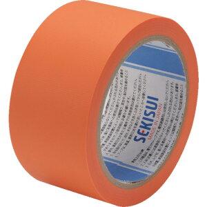 [養生用クロステープ]積水化学工業(株) 積水 養生テープ スマートカットテープFILM 50×25m オレンジ N833Q03 1巻【836-4031】