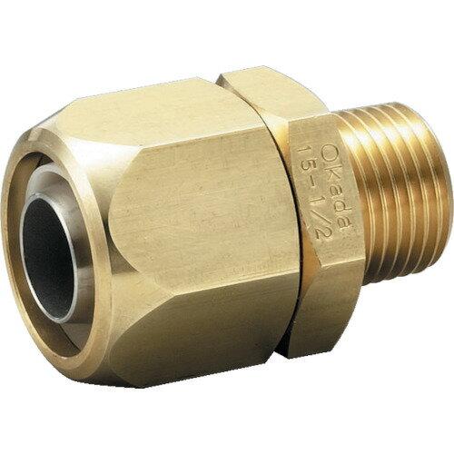 [配管継手]フローバル(株) フローバル ブレードロック 黄銅製 11200304 TBB0308 1個【836-4991】