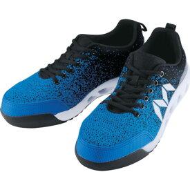 [作業靴](株)丸五 丸五 マンダムニット#001 ブルー/ブラック 24.5cm MNDMNIT001BLBK245 1足【836-8759】