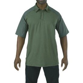 [シャツ]5.11社 5.11 半袖 ラピッドパフォーマンスポロ TDUグリーン L 41018190L 1枚【836-9366】