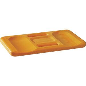 [スポンジ]KRONEN HANSA社 K/H ひざマット Ergo Form オレンジ 240×440×30mm 367100 1個【836-9850】