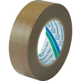 [クロス粘着テープ]リンレイテープ(株) リンレイテープ 包装用PEワリフテープ EF671 38×50 茶色 EF67138X50 1巻【855-6023】