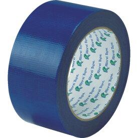 [クロス粘着テープ]リンレイテープ(株) リンレイテープ 包装用PEワリフテープ EF674 50×25 青色 EF67450X25BL 1巻【855-6028】