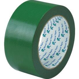 [クロス粘着テープ]リンレイテープ(株) リンレイテープ 包装用PEワリフテープ EF674 50×25 緑色 EF67450X25GR 1巻【855-6029】