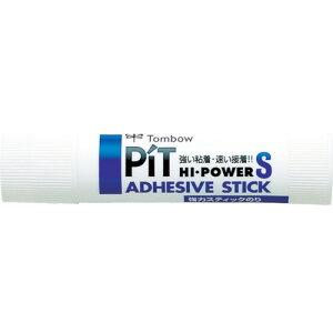 [スティックのり](株)トンボ鉛筆 Tombow スティック糊ピット ハイパワ−S PTTP 1個【856-0012】