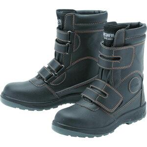 [プロテクティブスニーカー(JSAA A種認定)]ミドリ安全(株) ミドリ安全 先芯入りハイカット作業靴 マジックタイプ DSF−035 24.5 DSF3524.5 1足【825-8314】