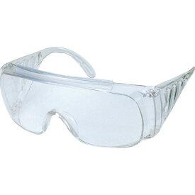 【在庫あり】[一眼型保護メガネ]トラスコ中山(株) TRUSCO 一眼型サイド付セーフティグラス クリア GS-33 1個【126-0553】