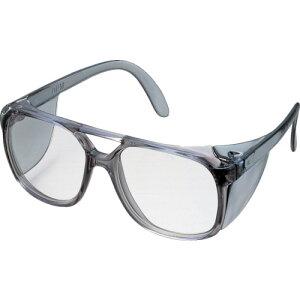 [二眼型保護メガネ(フレームタイプ)]トラスコ中山(株) TRUSCO 二眼型セーフティグラス プラスチックフレームタイプ GS-404 1個【126-0715】