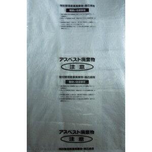 [回収袋](株)島津商会 Shimazu アスベスト回収袋 透明に印刷大(V) (1Pk(袋)=25枚入) M-1 1PK(25枚入)【335-6647】