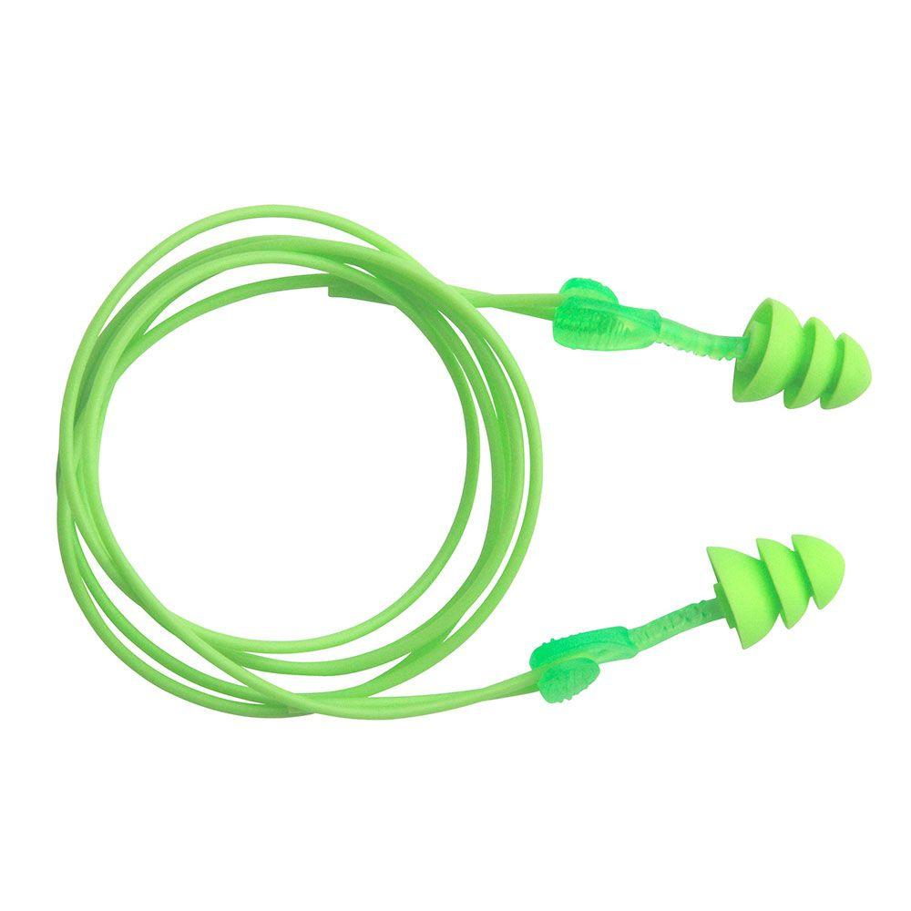 [耳せん]モルデックスジャパン(株) MOLDEX 再使用可能耳せん GLIDE 6445 コード付き 6445 1組【770-4739】