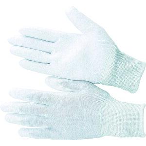 [静電気防止手袋(手のひらコートタイプ)](株)ブラストン ブラストン PU手の平コート制電編手袋LL BSC-21-LL 1袋【115-8356】
