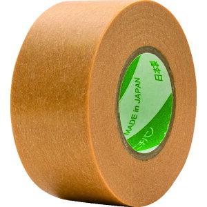 [マスキングテープ(建築塗装用)]ニチバン(株) ニチバン 紙粘着テープ 208H−24 24mmX18m(5巻入り) 208H-24 1PK(5巻入)【418-8551】