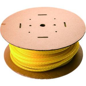 [束線チューブ]パンドウイットコーポレーション パンドウイット 電線保護チューブ スリット型スパイラル パンラップ 束線径18.3Φmm 30m巻き 黄 PW75FC4 1巻【731-5261】