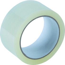 [OPP(ポリプロピレン)テープ]トラスコ中山(株) TRUSCO 静音透明梱包用OPPテープ 0.05mmx48mmx50m  TOPT-50S 1巻【161-2960】