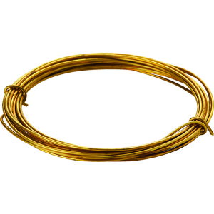 [針金]トラスコ中山(株) TRUSCO 真鍮線 線径0.70mmx約6m TBW-22 1巻【165-6344】