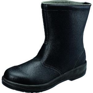 [安全靴(長編上靴・JIS規格品)](株)シモン シモン 安全靴 半長靴 7544黒 26.5cm 7544N-26.5 1足【157-8707】