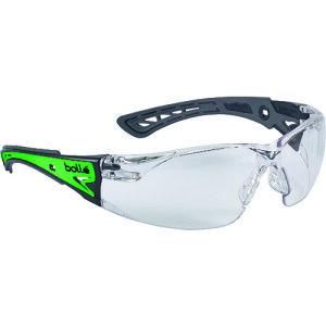 [二眼型保護メガネ(フィットタイプ)]ボレー社 bolle ラッシュプラス グロー クリア RUSHPGLOJP 1個【137-4202】