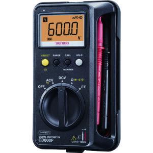 [デジタルテスタ]三和電気計器(株) SANWA デジタルマルチメータ CD800F 1台【859-7640】