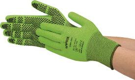 [耐切創手袋(特殊繊維)]UVEX社 UVEX ウベックス C500 ドライ M 6049968 1双【819-9370】