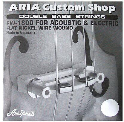 ARIA SWB専用弦 4弦セット 「FW-1800」 アリア・アップライトベース専用弦セット 【送料無料】【smtb-KD】【RCP】:aria-fw1800-p5