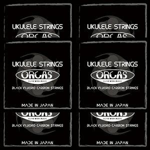ORCAS(オルカス):日本製 「OS-MED×6セット:ソプラノ、コンサート用ミディアム・ゲージ」 国産のウクレレ弦セット 【送料無料】【smtb-KD】【RCP】:72506-6-p2