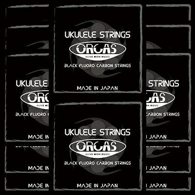 ORCAS(オルカス):日本製 「OS-MED LG×12セット:ソプラノ、コンサート用ミディアム・ゲージ/4弦:LOW-G」 国産のウクレレ弦セット 【送料無料】【smtb-KD】【RCP】:-p2