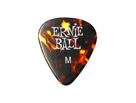 ERNIE BALL(アーニーボール) ギター ピック「NITRO MEDIUM:ニトロ・ミディアム・鼈甲柄(0.72mm)×12枚セット」/ティアドロップ【送料無料】【smtb-KD】【RCP】:-p5