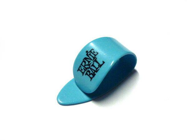 ERNIE BALL(アーニーボール) ギター ピック「#9210 THIN THUMB PICKS Med / BLUE(ブルー・ミディアム)×12個セット」サムピック【送料無料】【smtb-KD】【RCP】:-p2