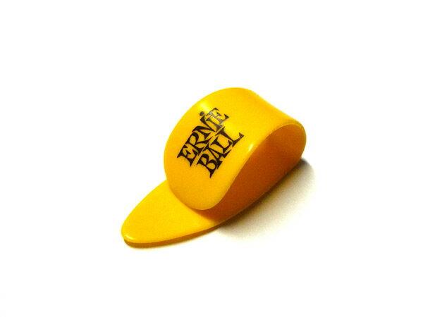 ERNIE BALL(アーニーボール) ギター ピック「#9210 THIN THUMB PICKS Med / YELLOW(イエロー・ミディアム)×12個セット」サムピック【送料無料】【smtb-KD】【RCP】:-p2