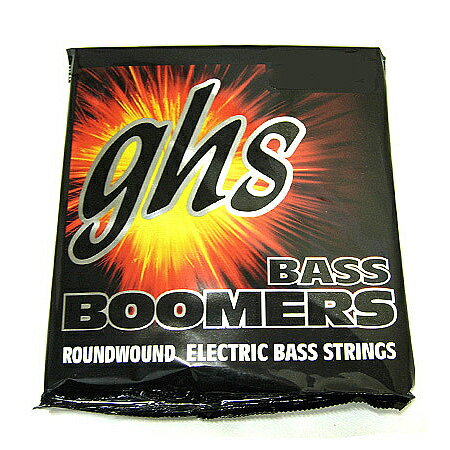 ghs strings(ガス) 「ML3045 045-100×1セット」 エレキベース弦/Bass Boomers/ Standard Long Scale 【送料無料】【smtb-KD】【RCP】:-1