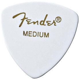 FENDER PICK(フェンダーピック)「CLASSIC Celluloid 346 shape[White Medium]×5枚セット」トライアングル(オニギリ)/ミディアム【送料無料】【smtb-KD】【RCP】