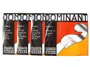Thomastik INFELD DOMINANT バイオリン弦 ドミナント【3/4用】 E線129(ボールエンド)・A線131・D線132・G線133/EAD...
