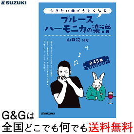 SUZUKI(鈴木楽器) 吹きたい曲でうまくなるブルースハーモニカの楽譜 【送料無料】【smtb-KD】【RCP】