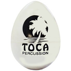 TOCA(トカ) T-2105 White Egg Shakers T2105 White エッグシェイカー ホワイト 1個 Percussion パーカッション【送料無料】【smtb-KD】【RCP】