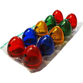 TOCA(トカ) T-2104 Egg Shaker・ Gel Colored(10/box) ☆T2104 エッグシェイカー 10個セット Percussion パーカッション【送料無料】【smtb-KD】【RCP】