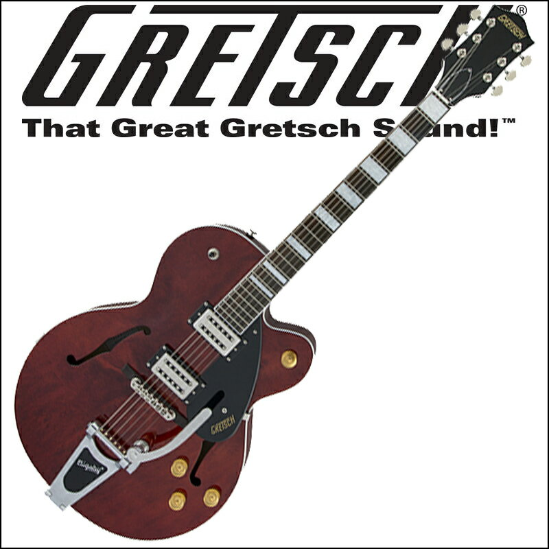 GRETSCH G2420 Streamliner Hollow Body with Chromatic II Tailpiece Walnut Stain グレッチ(エレキギター)ストリームライナー・コレクション【smtb-KD】【RCP】:-p5