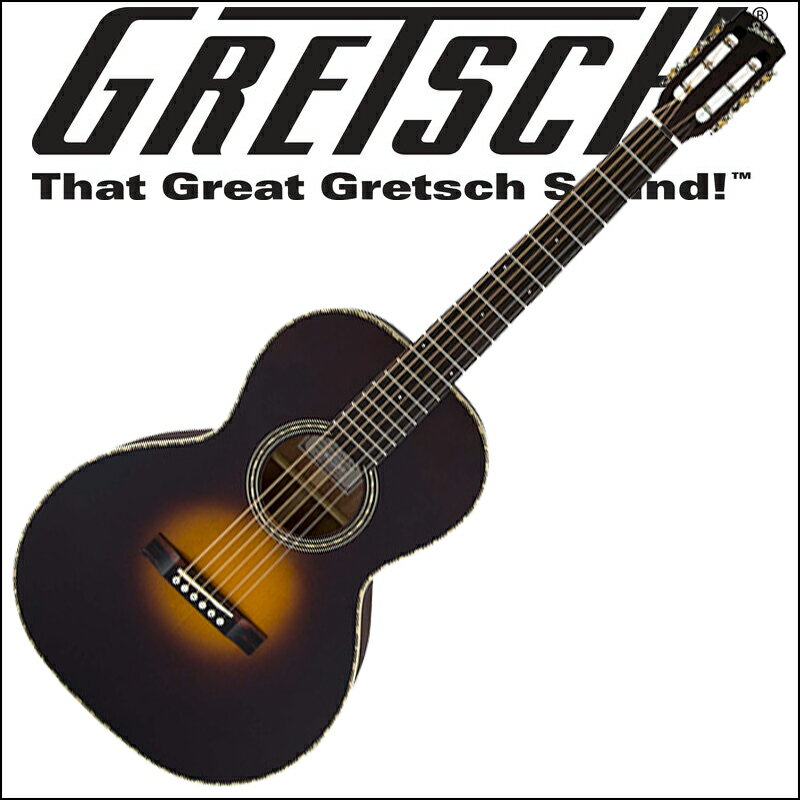 【あす楽対応】GRETSCH G9521 Style 2 Triple-O Auditorium Appalachia Cloudburst(アコースティックギター)【smtb-KD】【RCP】:-p2