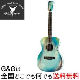 K.YAIRI Compact Series YFP-02 ABL アバロン柄 ヤイリ コンパクトアコースティックギター ミニアコギ【送料無料】【smtb-KD】【RCP】